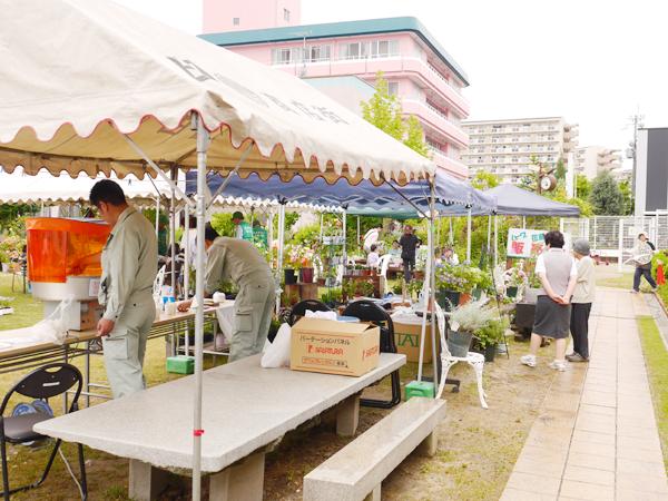高槻フリーマーケット「コットンマルシェ」2