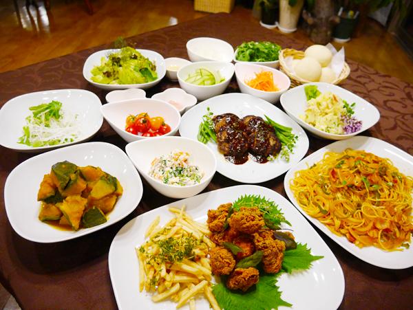 ディナー創作イベント食1