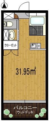 全室南向きの快適居室間取り図