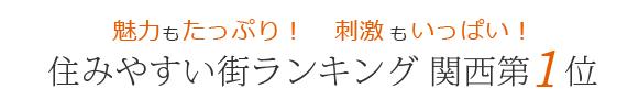 住みやすい街ランキング 関西第1位の高槻市